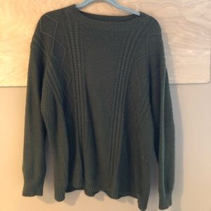 urban outfitters green sweater -m